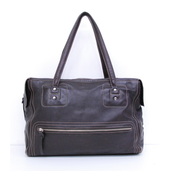 Hogans Brown Leather Tote