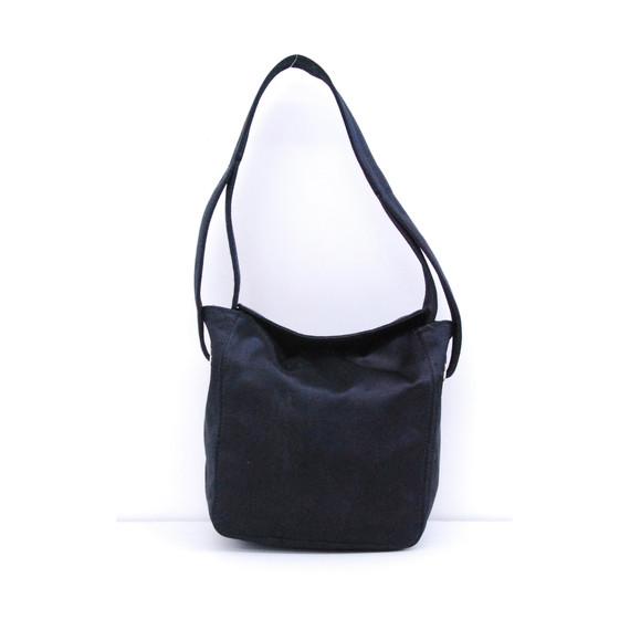 Tods Black Satin Evening Evening Handbag