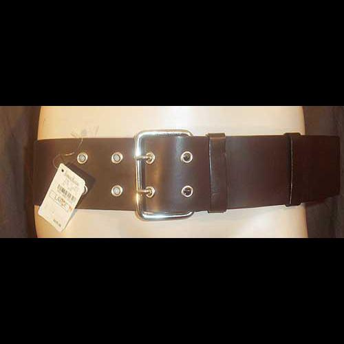 Michael Kors Dark Brown Leather Belt M/L NWT