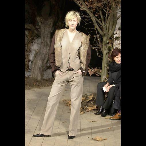 Dolce & Gabbana Brown Distressed Corduroy Vest 52IT 18 NWT