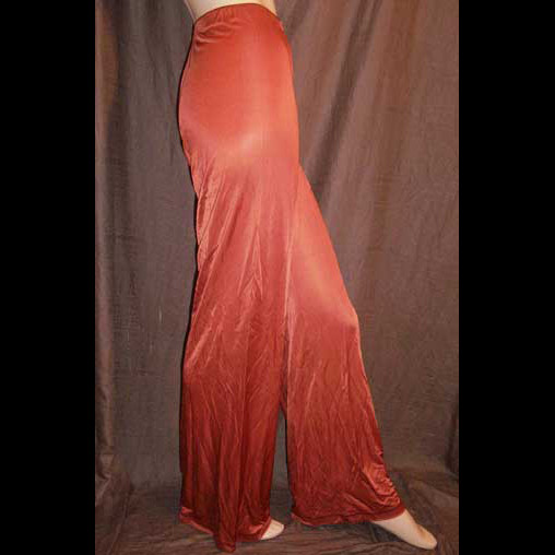 Missoni Slinky Copper Jersey Pants 46IT 12/14 NWT