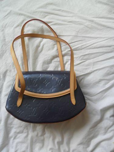 Louis Vuitton Indigo PM Biscayne Bay Vernis bag
