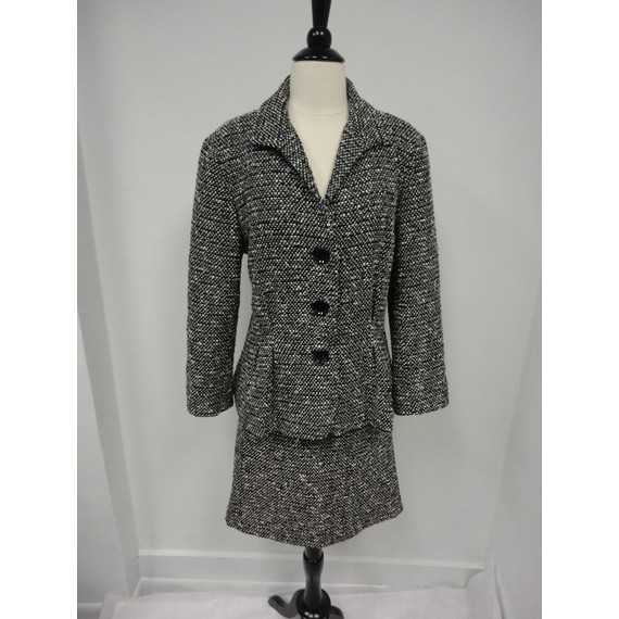 Lafayette 148 Donegal Tweed Skirt Suit