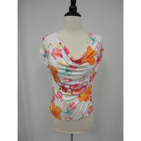 Oilily Draped Floral Top
