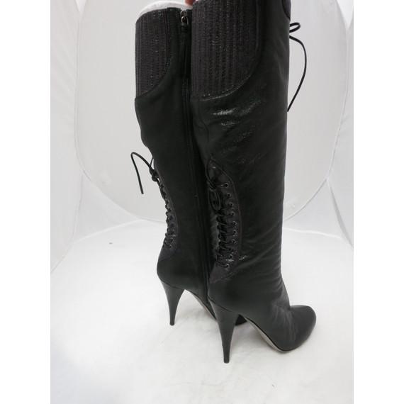 MIU MIU Black Tall Boot