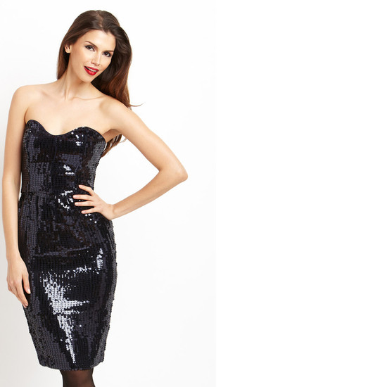 FRENCH CONNECTION Spicy Sequined Dress