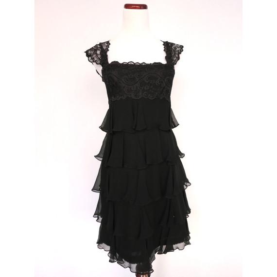 Notte by Marchesa black dress