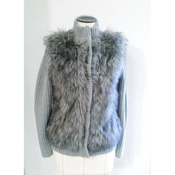 MICHAEL by Michael Kors Faux fur Wool Jacket
