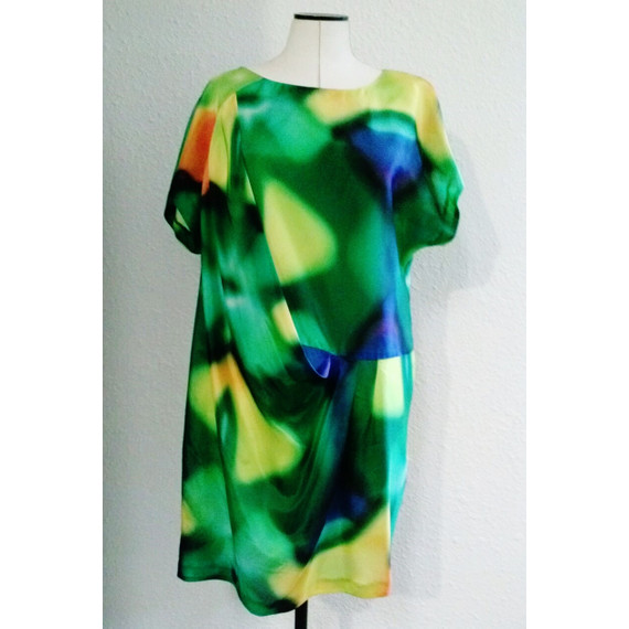 Trina Turk Colorful Shift Dress