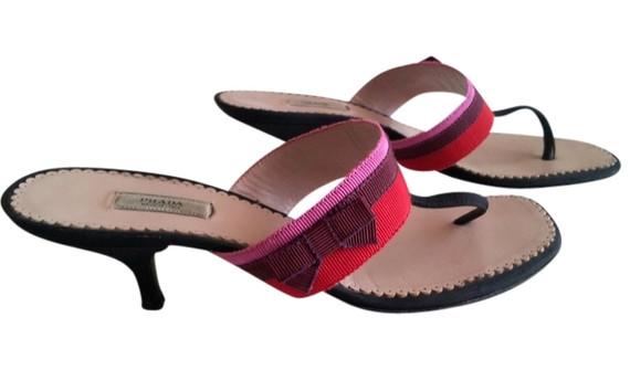 PRADA Strap Sandal Heel