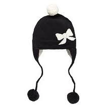 Kate Spade New York Big Apple Bow Intarsia Ski Hat