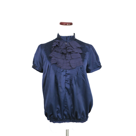T-bags Navy Blouse