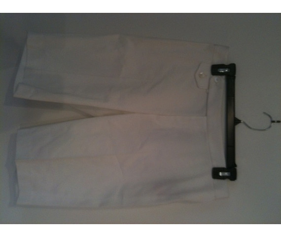 NWT! White Dress Walking Shorts - Orig $425