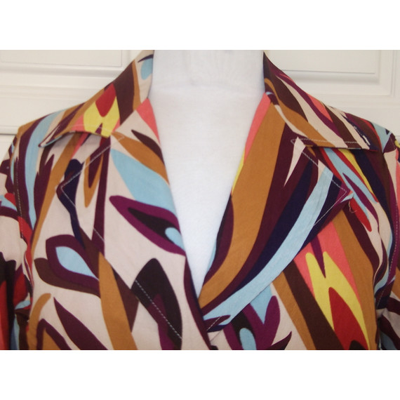 Missoni for Target Creeping Floral Trench Coat Size S