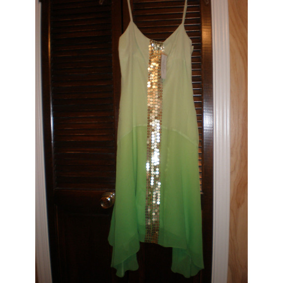 BCBG Maxazria Green Summer Dress