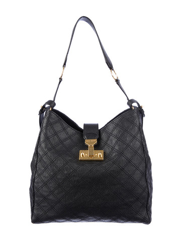 Marc Jacobs Quilted Chain Push-lock Closure