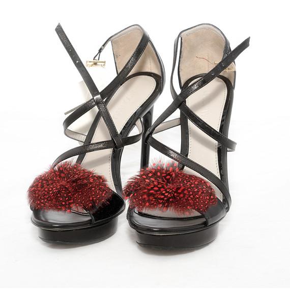 Jason Wu Black Sandals