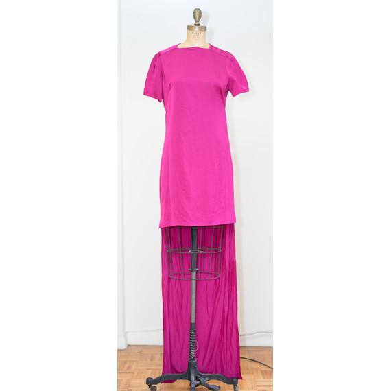 Stella McCartney Fuschia High Low Dress