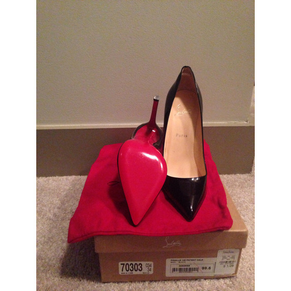 Christian Louboutin Pigalle 120 Patent Calf