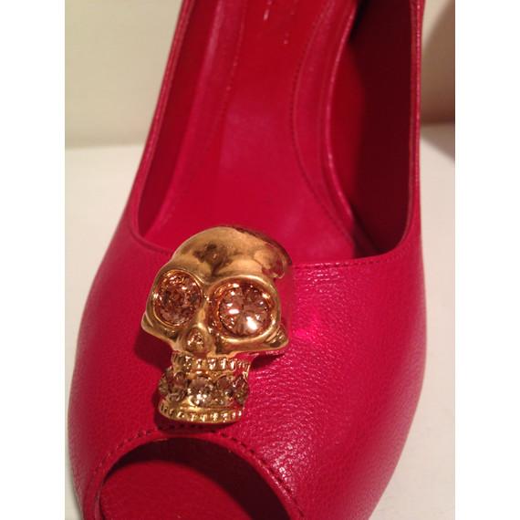 Alexander McQueen Skull Pumps