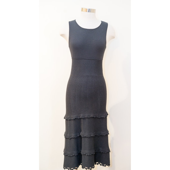 Chanel Black Viscose Dress