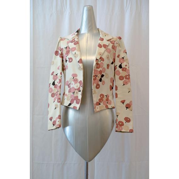 Marni Creme Pansy Bouquet Jacket