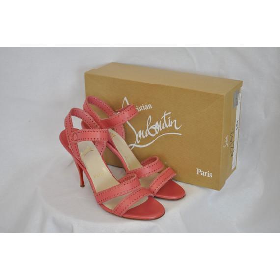 Christian Louboutin Pink Smile Sandal Heel