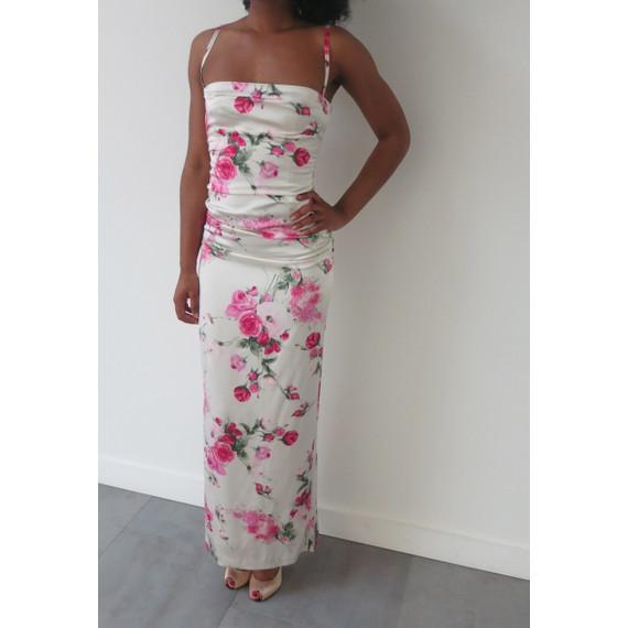 Dolce & Gabbana Floral Silk Gown