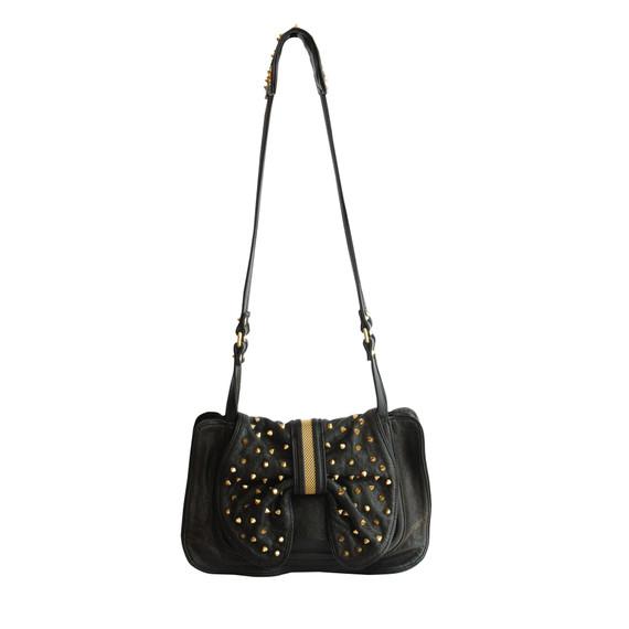 3.1 Phillip Lim Black Edie Studded Bow Bag