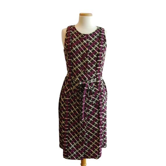 Peter Som Plaid Button Down Dress