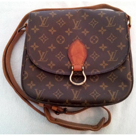 Authentic LOUIS VUITTON Saint Cloud MM Crossbody Monogram Bag
