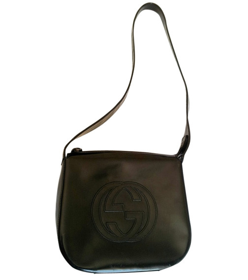 Gucci Soho Patent Leather Shoulder Bag