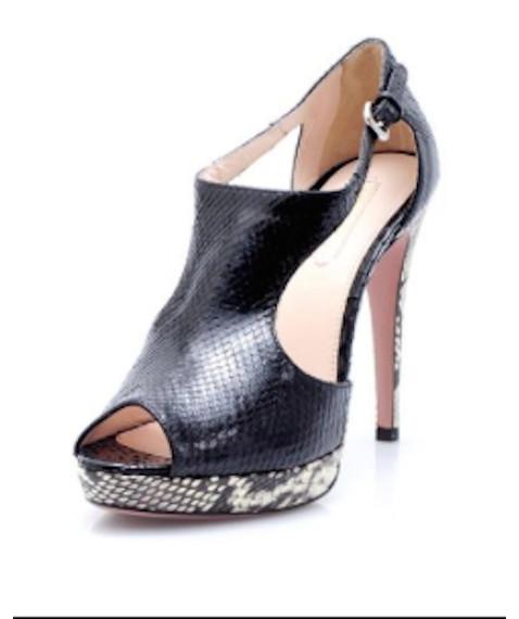 Prada Peep-Toe Heels