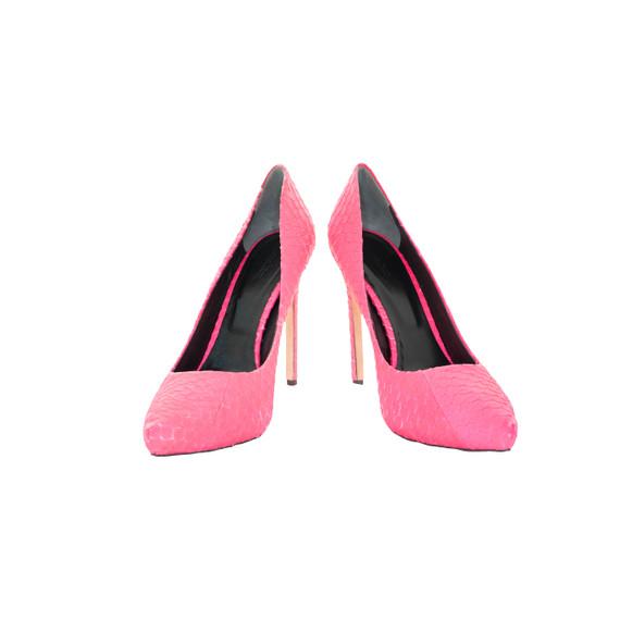 Rachel Roy Neon Pink Pumps