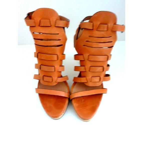 Rag & Bone Nude Apollo Gladiator Platform Sandals