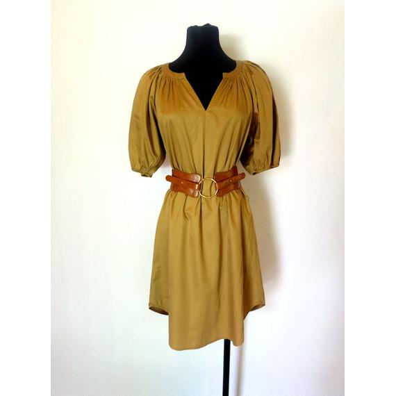 DVF Diane von Furstenberg Button Shirt Dress