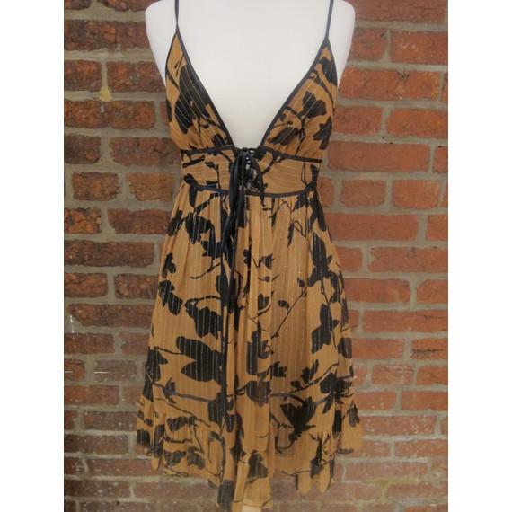 Foley Floral Print Dress Size Small (Item No. 10734)