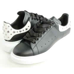 Alexander McQueen Oversized Studded Leather Platform Sneakers