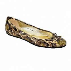Jimmy Choo | Snakeskin Ballet Flats