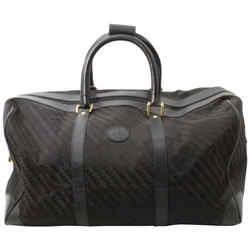 Gucci Black GG monogram Boston Duffle Bag 861921