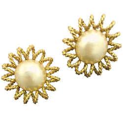 Chanel Starburst Clip-on Earrings