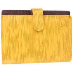 Louis Vuitton Yellow Epi Leather Small Ring Agenda PM 127lv728
