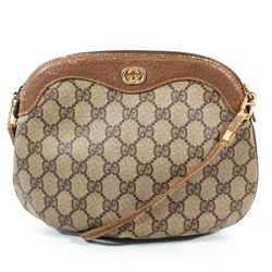 Gucci - Vintage Gg Monogram Crossbody Shoulder Bag - Round Bottom - Small