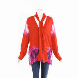MSGM Silk Lace Blouse SZ 42