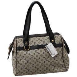 Louis Vuitton Navy Monogram Mini Lin Josephine PM Speedy Boston Bag 861950