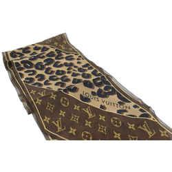 Louis Vuitton Brown Leopard Stephen Sprouse Scarf 542lvs611