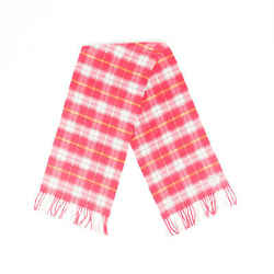 Burberry Scarf Pink Plaid Cashmere