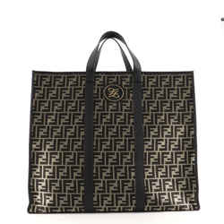 Karligraphy Tote Metallic Zucca Canvas Large