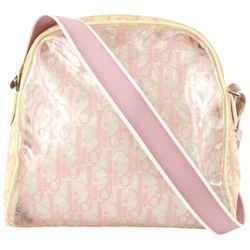 Dior Pink Monogram Trotter Clear Crossbody Bag 917da9