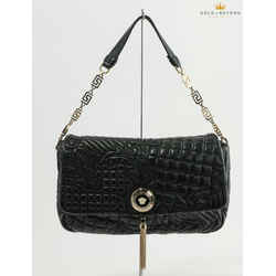 Versace Vanitas Medusa Quilted Baroco Bag